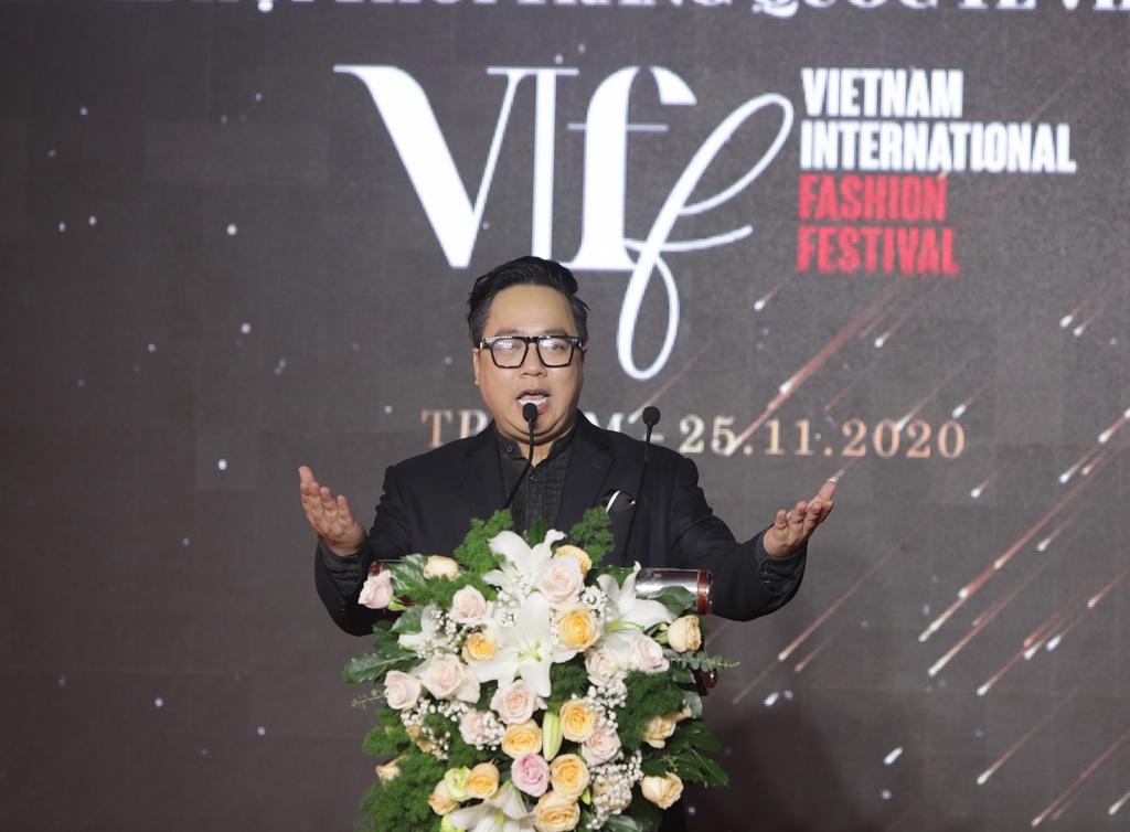 Ông Nguyễn Thanh Tùng - Tổng Giám đốc Empire E_M phát biểu tại sự kiện