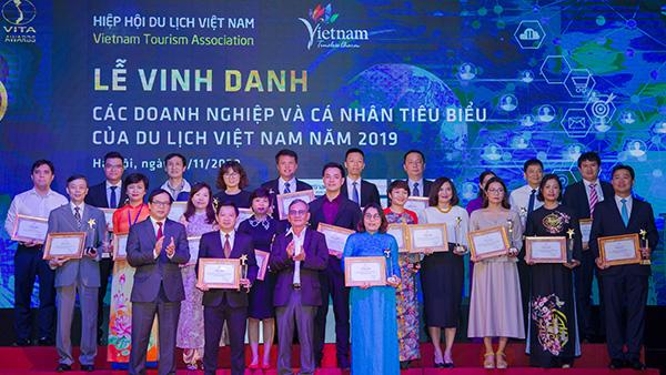 VITA Awards năm 2020 tôn vinh 14 tập thể doanh nghiệp xuất sắc của ngành du lịch.