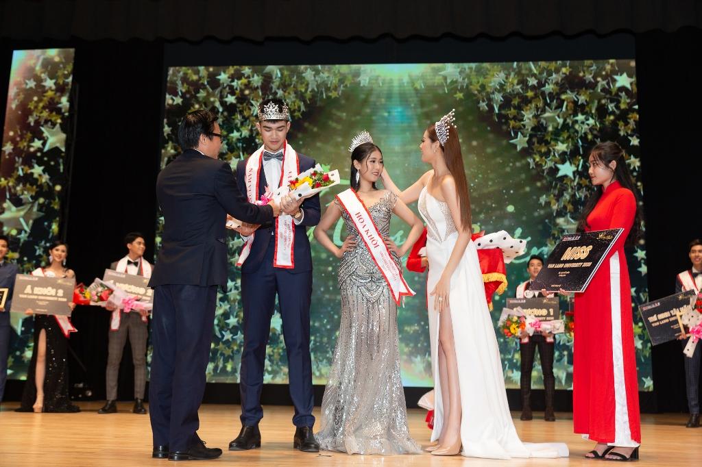 Hoa hau Khanh Van cham thi Miss va Mister Van Lang 202044