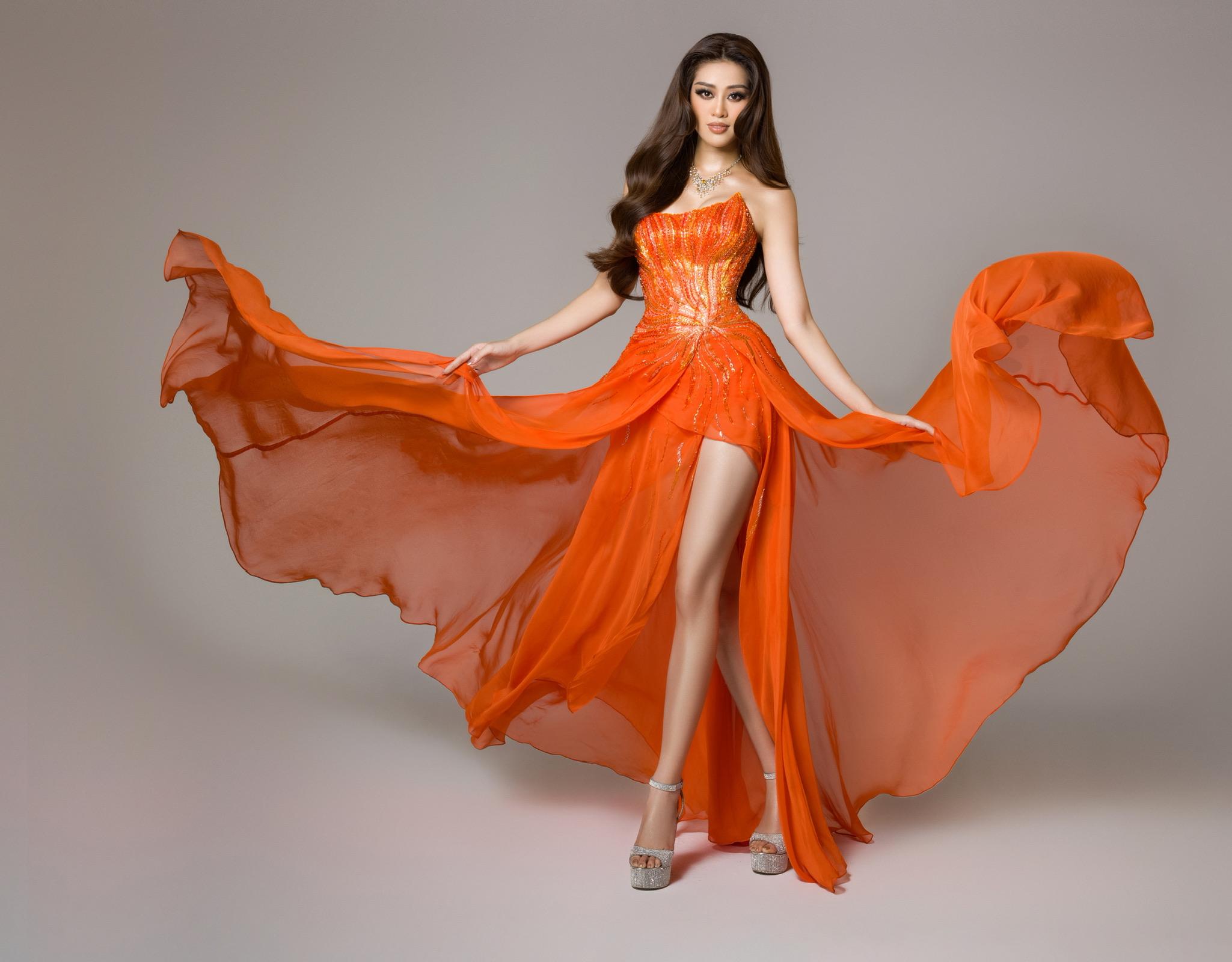 Hoa hau Khanh Van_Da hoi Ban ket Miss Universe2