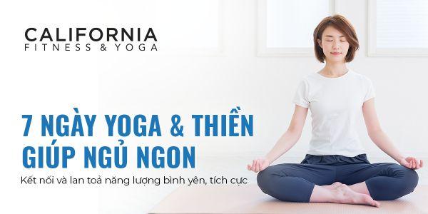 California Fitness Yoga 2 California Fitness & Yoga tổ chức chương trình cộng đồng Yoga & thiền giúp người Việt ngủ ngon hơn